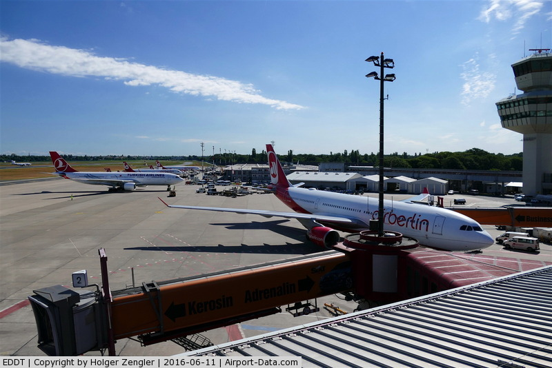 Tegel International Airport (closing in 2011), Berlin Germany (EDDT) - TXL waving good bye tour no.4 since 2011
