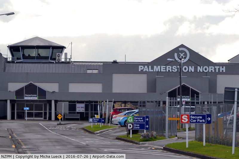 Palmerston North International Airport, Palmerston North New Zealand (NZPM) - Departures at PMR