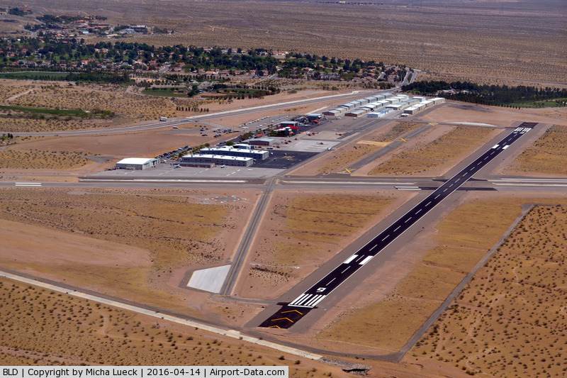 Boulder City Municipal Airport, Boulder City, Nevada United States (BLD) - Taken from N228SA during a Grand Canyon scenic flight