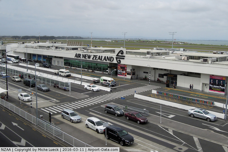 Auckland International Airport, Auckland New Zealand (NZAA) - Auckland domestic
