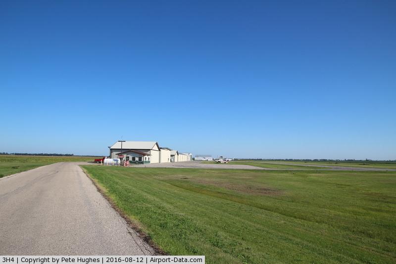 Hillsboro Municipal Airport (3H4) - Hillsboro North Dakota