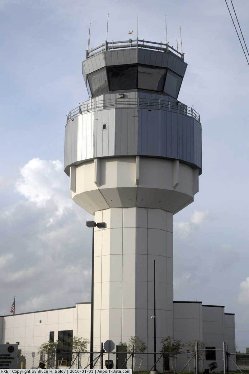 Fort Lauderdale Executive Airport (FXE) - New ATC tower