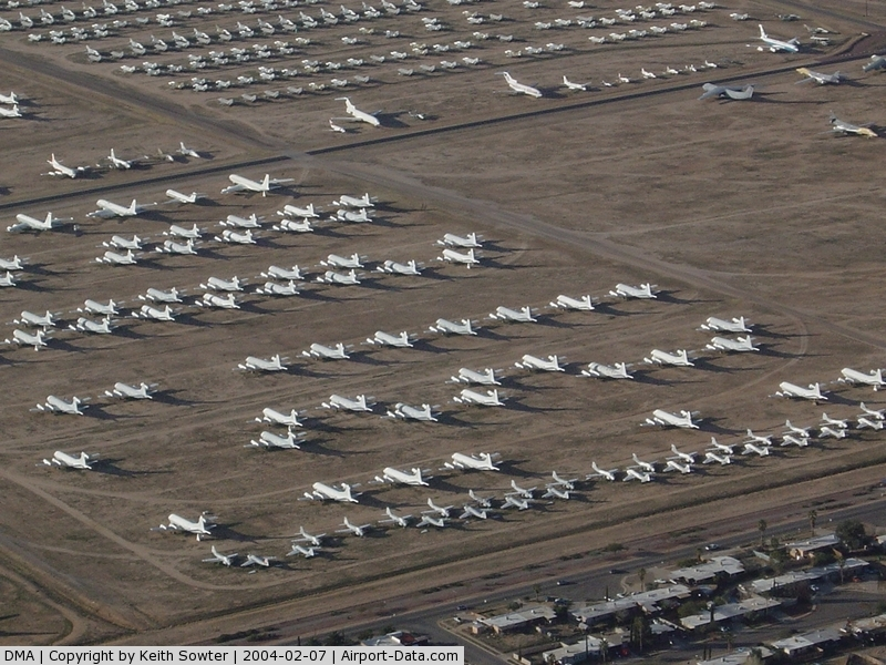Davis Monthan Afb Airport (DMA) - Overflying