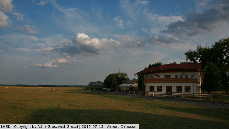 LHSK Airport - Siófok-Kiliti airport, LHSK-Hungary