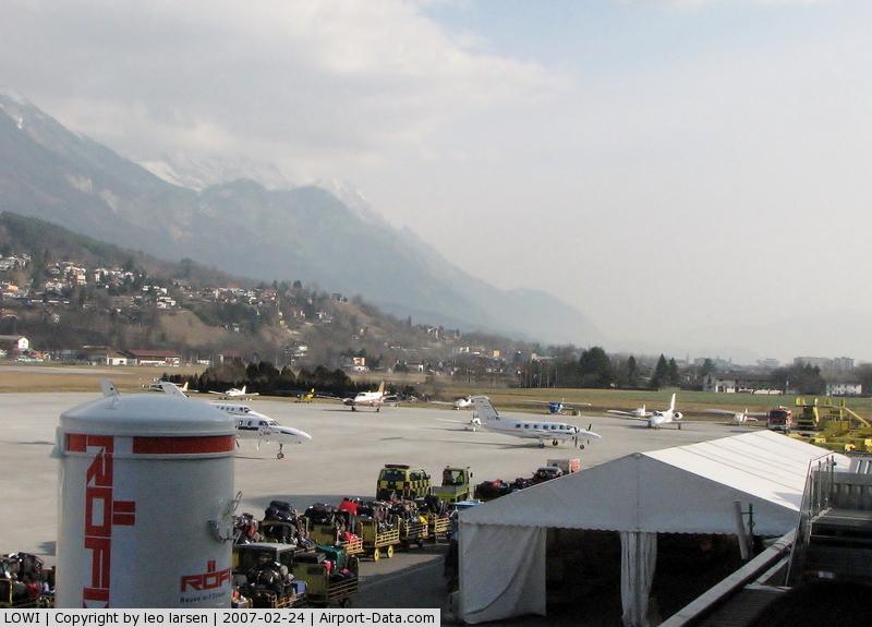 Innsbruck Airport, Innsbruck Austria (LOWI) - Innsbruck 24.2.2007
