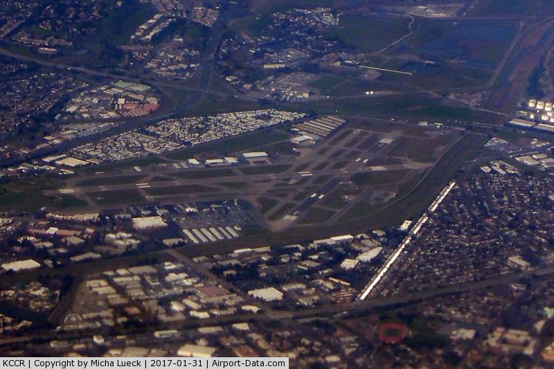 Buchanan Field Airport (CCR) - Taken from N211UA, SFO-ORD