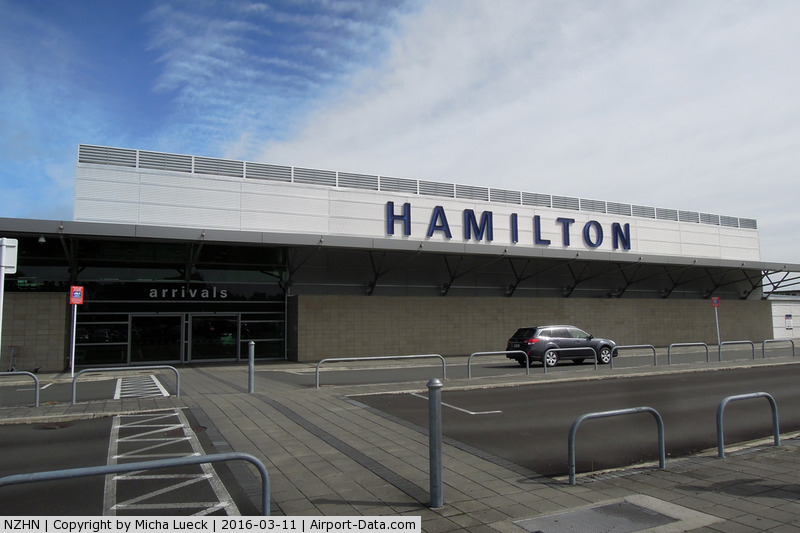 Hamilton International Airport, Hamilton New Zealand (NZHN) - Hamilton's airport is plain from the outside, but quite nice inside.