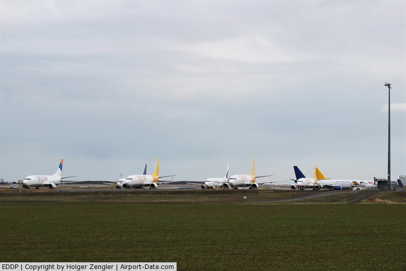 Leipzig/Halle Airport, Leipzig/Halle Germany (EDDP) - At weekends apron 2 is home of small freighters at LEJ....