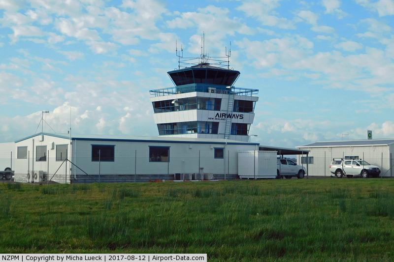Palmerston North International Airport, Palmerston North New Zealand (NZPM) - Tower at Palmerston North