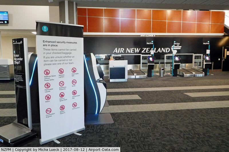 Palmerston North International Airport, Palmerston North New Zealand (NZPM) - At Palmerston North