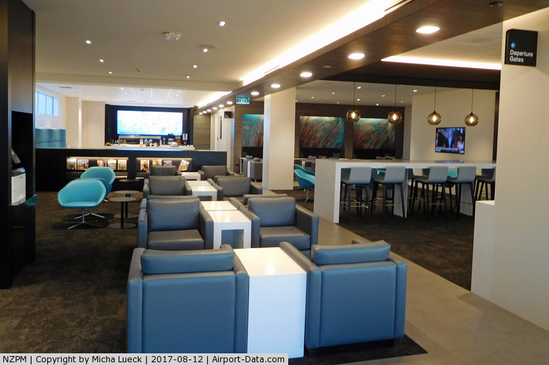 Palmerston North International Airport, Palmerston North New Zealand (NZPM) - The beautiful brand new Air New Zealand Koru Lounge