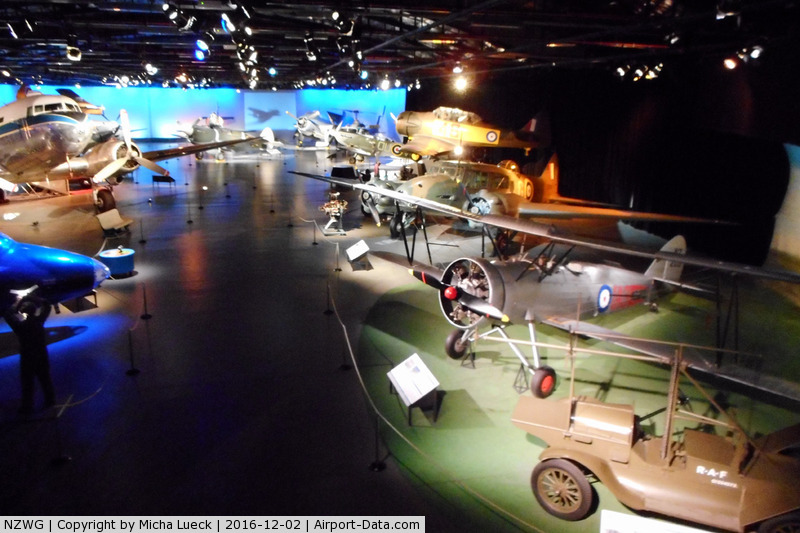 Wigram Aerodrome Airport, Wigram, Christchurch New Zealand (NZWG) - At the Air Force Museum in Christchurch