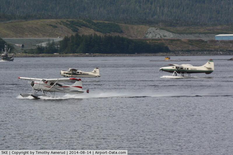 Ketchikan Harbor Seaplane Base (5KE) - Load'm up and go flying