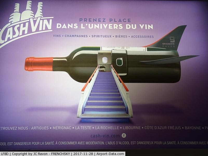 Bordeaux Airport, Merignac Airport France (LFBD) - wine airlines