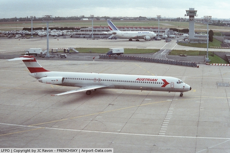Paris Orly Airport, Orly (near Paris) France (LFPO) - Orly south in 1994'