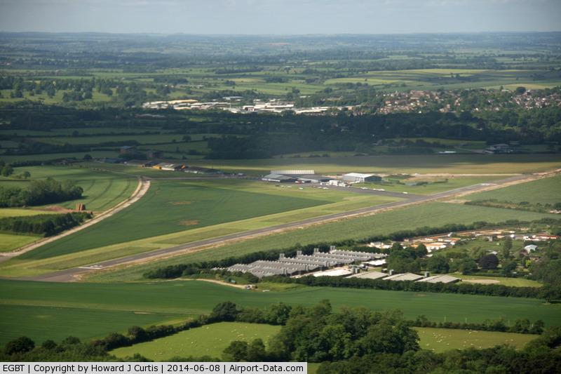 Turweston Aerodrome Airport, Turweston, England United Kingdom (EGBT) - Turweston, as seen from Bulldog G-GRRR.