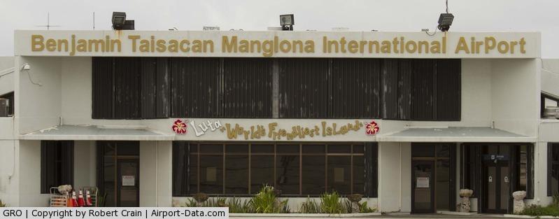 Benjamin Taisacan Mangiona International Airport (GRO) - Rota Terminal Building