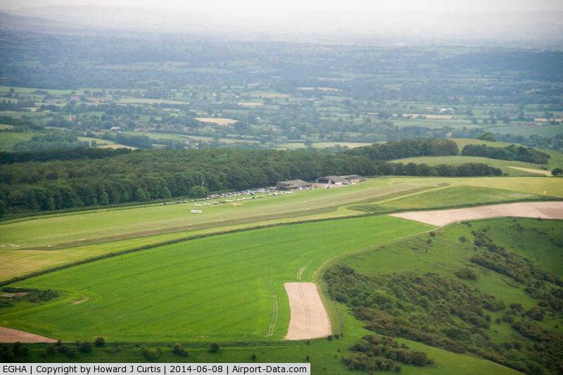 Compton Abbas Airfield Airport, Shaftesbury, England United Kingdom (EGHA) - Compton Abbas (from Bulldog G-GRRR)