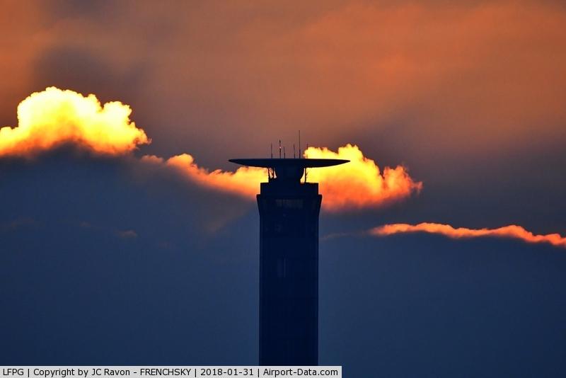 Paris Charles de Gaulle Airport (Roissy Airport), Paris France (LFPG) - tower