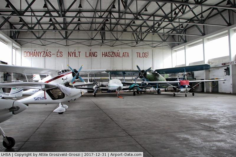 Szentkirályszabadja Airport, Szentkirályszabadja Hungary (LHSA) - Szentkirályszabadja Airport, ex Military Air base, Hungary