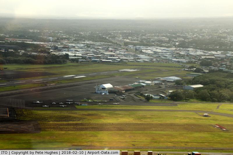 Hilo International Airport (ITO) - Hilo, Hawaii from Blue Hawaiian EC130 N11HQ