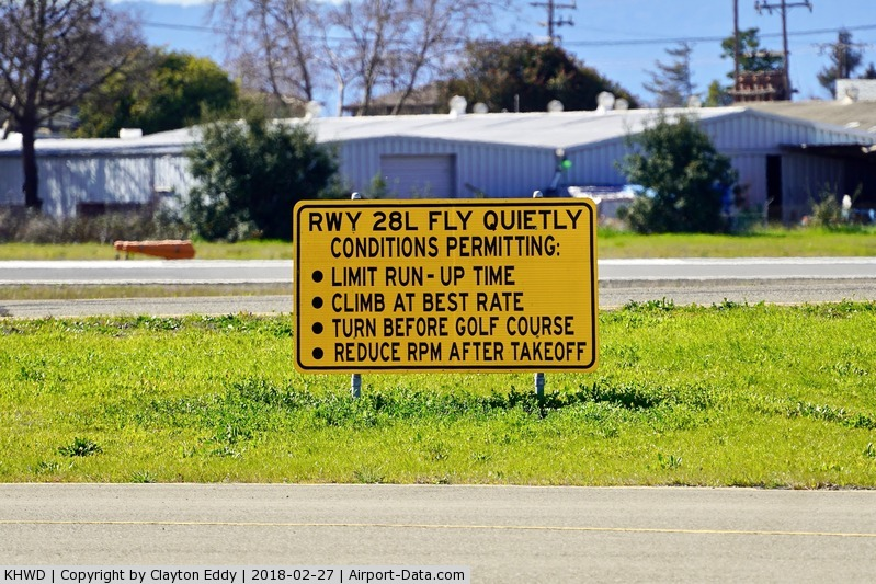 Hayward Executive Airport (HWD) - Hayward Airport California. 2018.