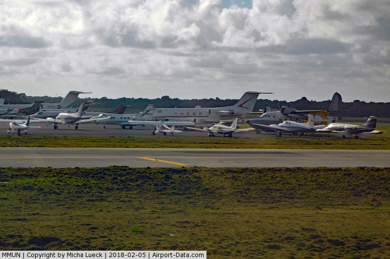 Cancún International Airport, Cancún, Quintana Roo Mexico (MMUN) - Some interesting aircraft parked here