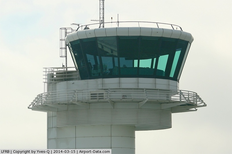 Brest Bretagne Airport, Brest France (LFRB) - Control tower, Brest-Bretagne airport (LFRB-BES)
