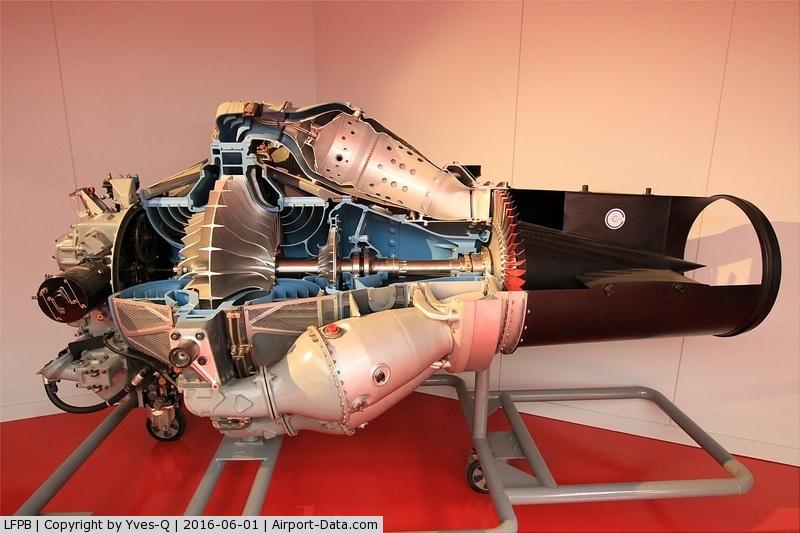 Paris Airport,  France (LFPB) - Rolls Ryce - Hispano Suiza turbojet Nene 104 DA, Paris-Le Bourget Air & Space Museum (LFPB-LBG)