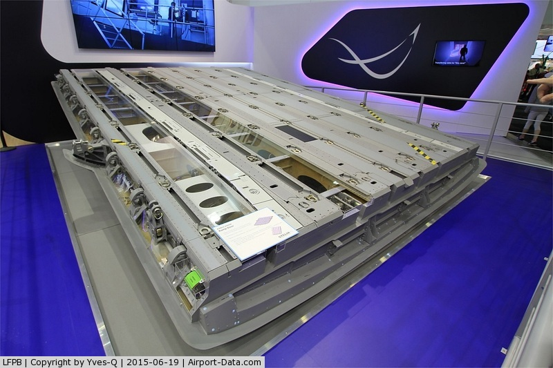 Paris Airport,  France (LFPB) - Rear ramp door of Airbus Military A-400M, Paris-Le Bourget Air Show 2015