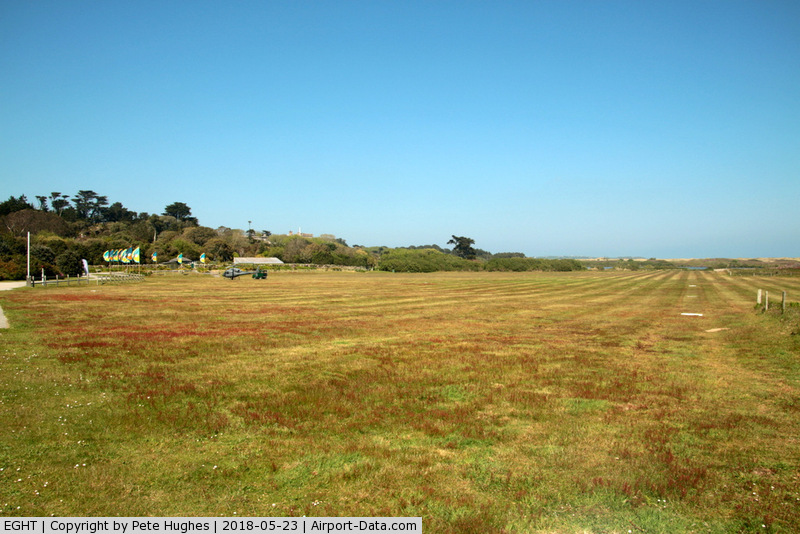 Tresco Heliport Airport, Tresco, England United Kingdom (EGHT) - Tresco Heliport, Tresco Isles of Scilly