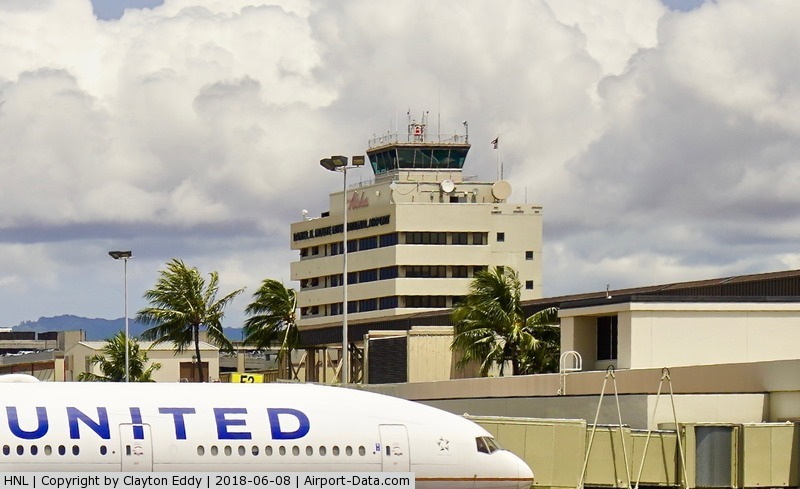 Honolulu International Airport (HNL) - Tower at HNL 2018.