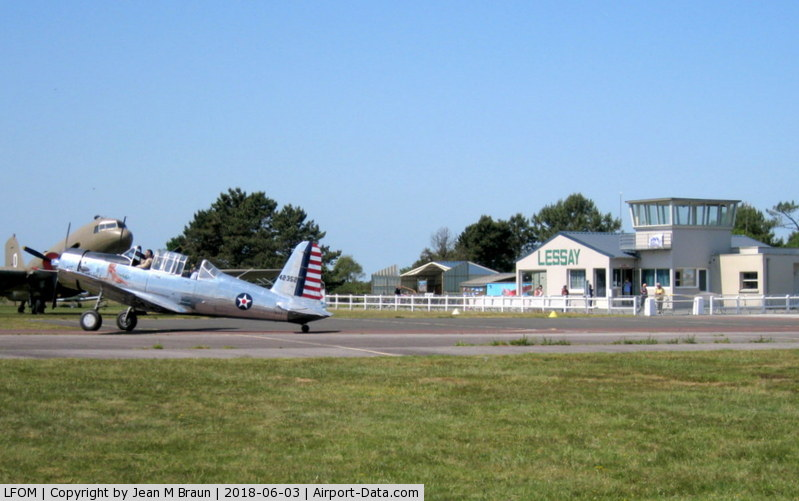 Lessay Airport, Lessay France (LFOM) - Lessay Airport also called Aerodrome Charles Lindbergh is a regional airport in Normandy supporting general aviation. During the battle of Normandy designated as ALG A-20 (Advanced Landing Ground)