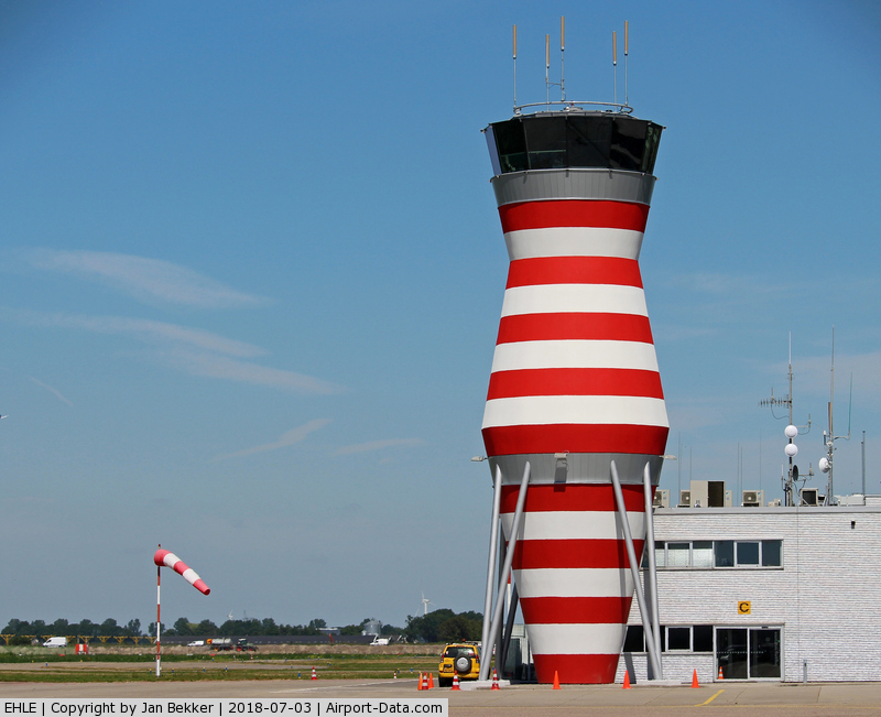 Lelystad Airport, Lelystad Netherlands (EHLE) - The new Airtraffic Control Tower is just finished now