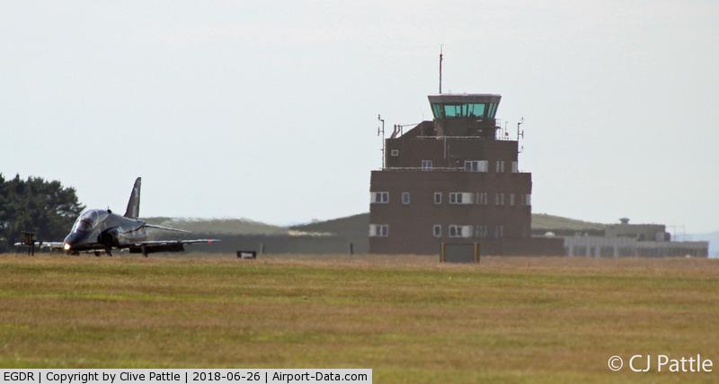 RNAS Culdrose Airport, Helston, England United Kingdom (EGDR) - Airfield Control Tower at RNAS Culdrose