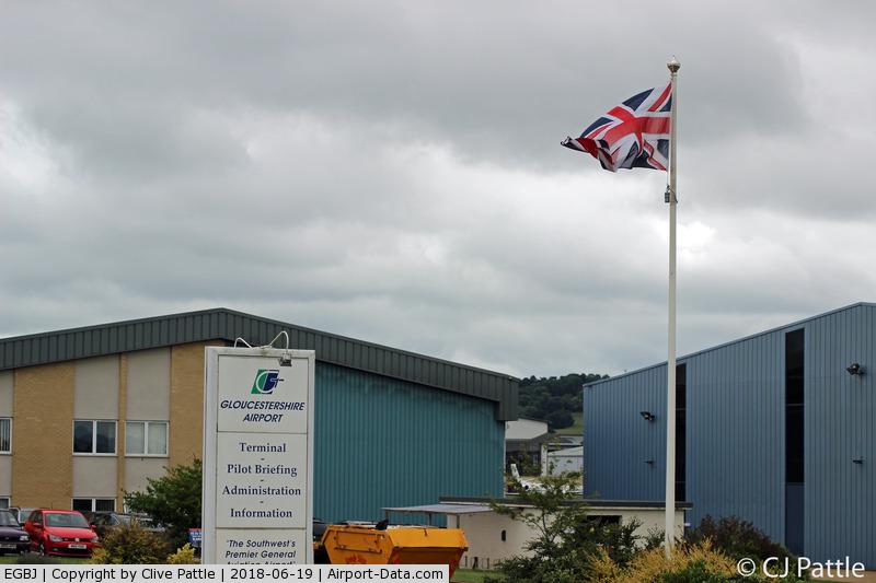 Gloucestershire Airport, Staverton, England United Kingdom (EGBJ) - Airport Buildings at EGBJ