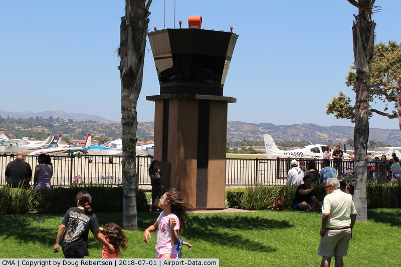 Camarillo Airport (CMA) - Camarillo Airport View Park behind the Waypoint Restaurant with miniature Control Tower and live audio from aircraft and CMA Tower with rotating beacon. Quite the attraction!