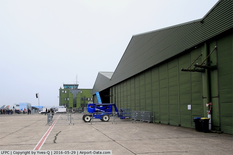 Creil Airport, Creil France (LFPC) - Creil air base 110 (LFPC-CSF)