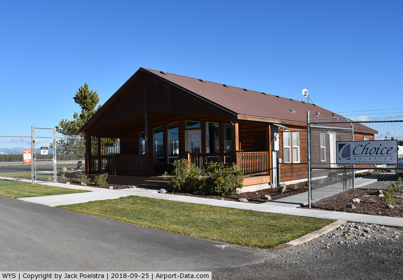 Yellowstone Airport (WYS) - Office of General aviation handling at Yellowstone Airport MT