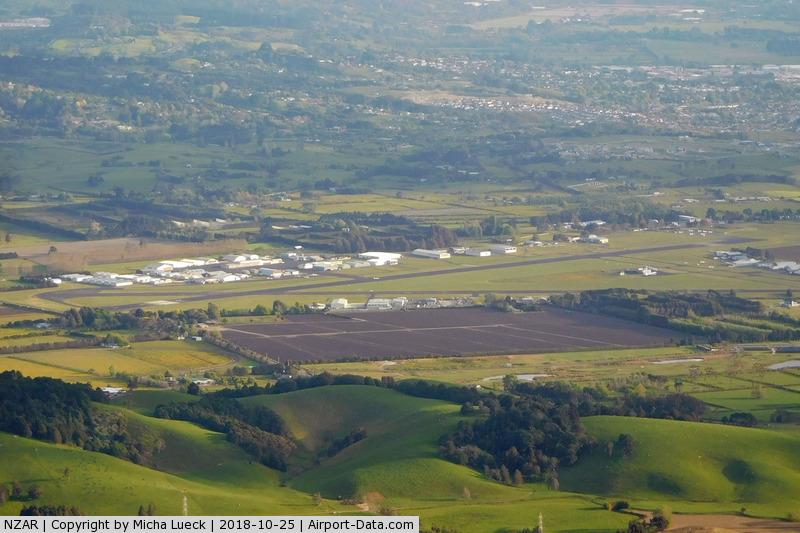 Ardmore Airport, Auckland New Zealand (NZAR) - Taken from B-18901 (BNE-AKL)