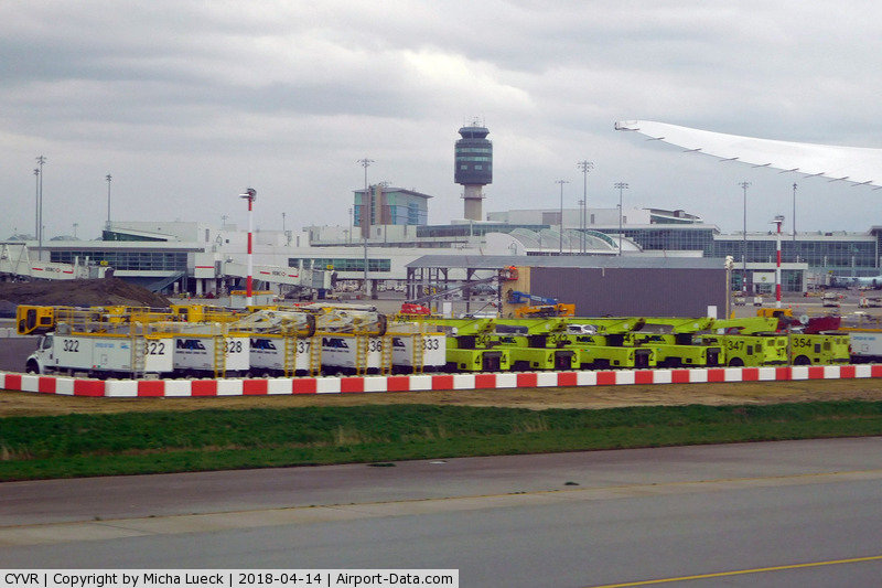 Vancouver International Airport, Vancouver, British Columbia Canada (CYVR) - At Vancouver
