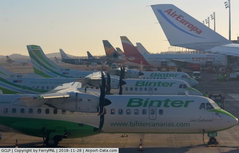 Gran Canaria International Airport, Gran Canaria Spain (GCLP) - Arrival in Gran Canaria Las Palmas airport.
