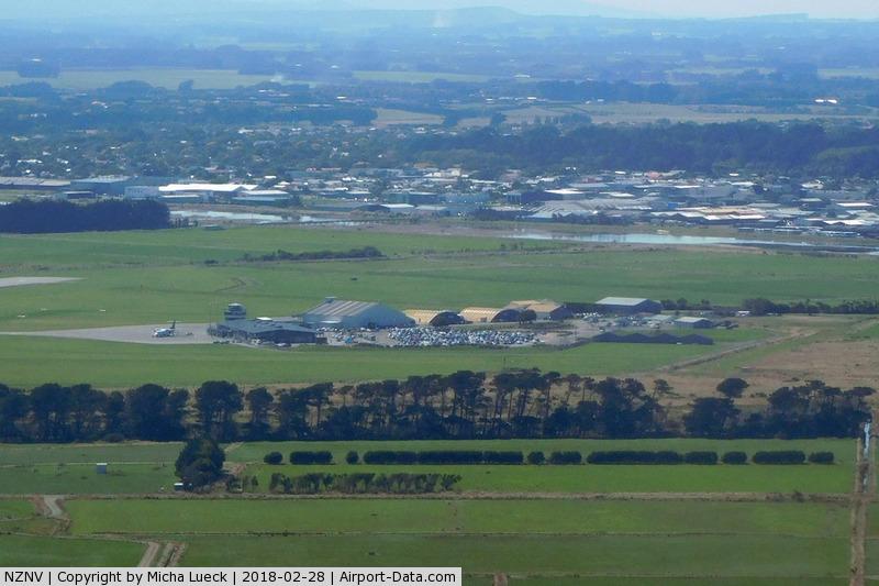 Invercargill Airport, Invercargill New Zealand (NZNV) - Taken from ZK-FWZ (SZS-IVC)