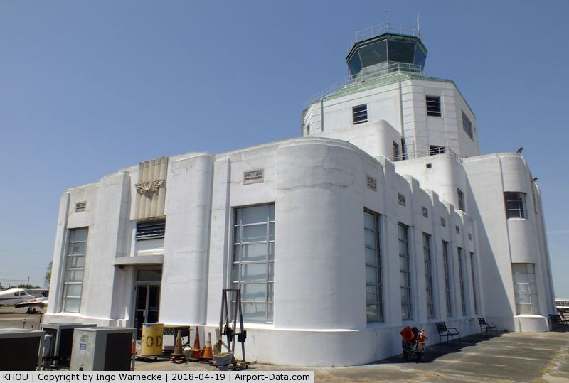 William P Hobby Airport (HOU) - the Houston Municipal Airport terminal building - restored and maintained by volunteers and staff of the 1940 Air Terminal Museum