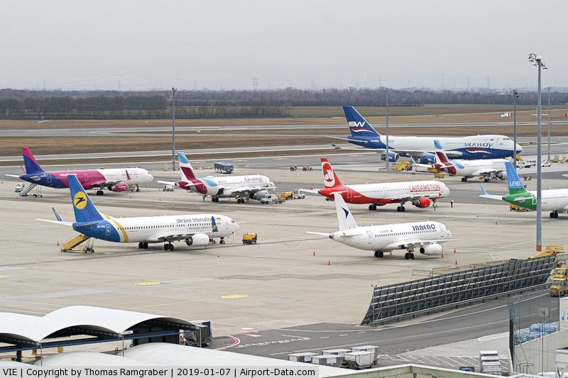 Vienna International Airport, Vienna Austria (VIE) - overview