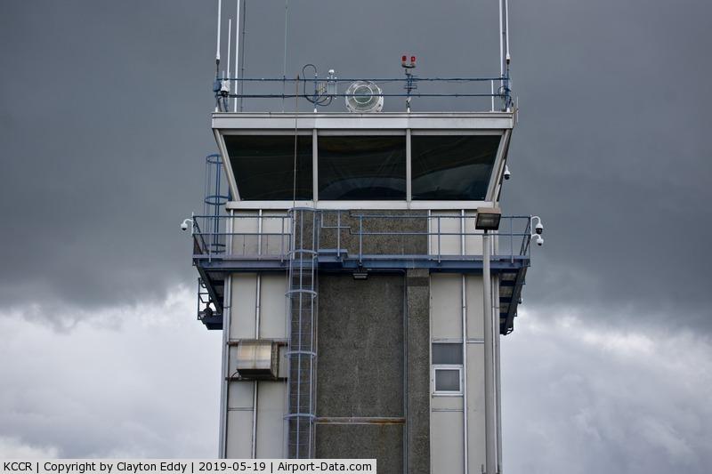 Buchanan Field Airport (CCR) - Tower at Buchanan Field Concord California 2019.