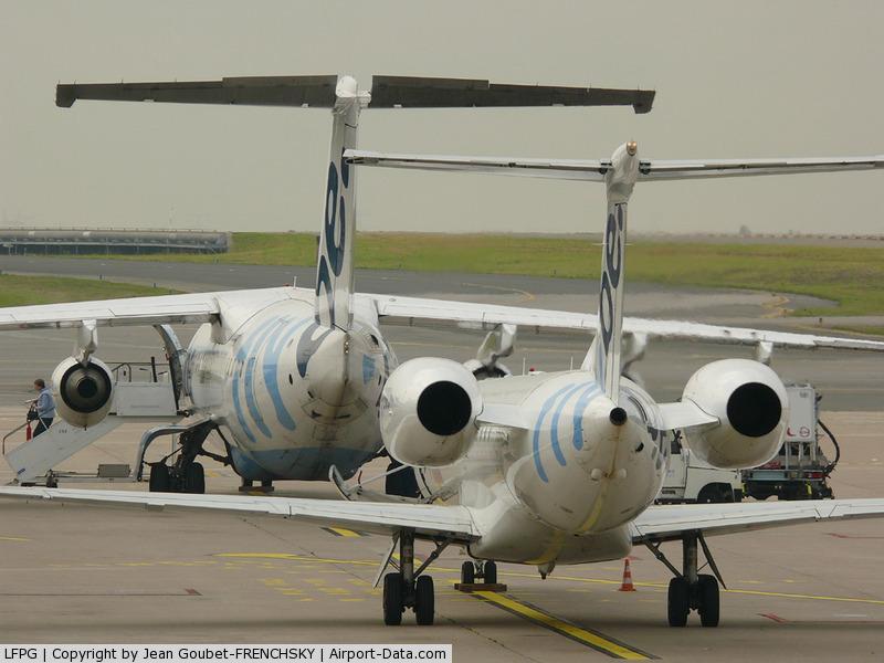 Paris Charles de Gaulle Airport (Roissy Airport), Paris France (LFPG) - FLYBE at T1