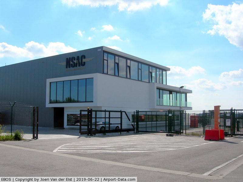 Ostend-Bruges International Airport, Ostend Belgium (EBOS) - North Sea Aviation Center NSAC