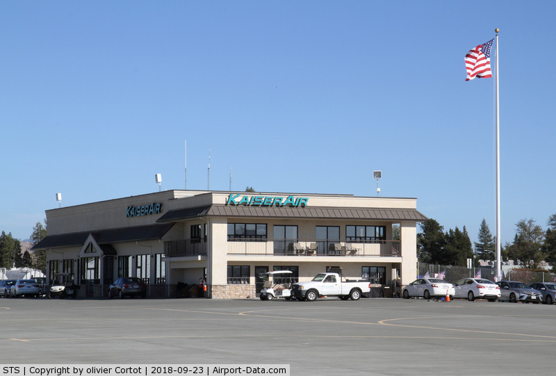 Charles M. Schulz - Sonoma County Airport (STS) - a company based there