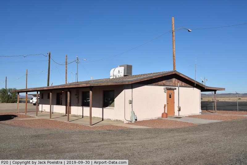 Avi Suquilla Airport (P20) - Airport office of Parker airport AZ